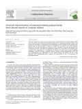 "Báo cáo khoa học "" Structural characterization of immunostimulating polysaccharide from cultured mycelia of Cordyceps militaris """