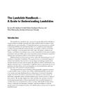 The Landslide Handbook — A Guide to Understanding Landslides