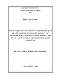 Luận văn: XÂY DỰNG HỆ THỐNG CÂU HỎI TRẮC NGHIỆM KHÁCH QUAN ĐỂ KIỂM TRA ĐÁNH GIÁ KIẾN THỨC HỌC PHẦN CÁC PHƯƠNG PHÁP PHÂN TÍCH HOÁ LÝ TRONG HOÁ PHÂN TÍCH ĐỐI VỚI SINH VIÊN HỆ CỬ NHÂN TRƯỜNG ĐẠI HỌC SƯ PHẠM HÀ NỘI
