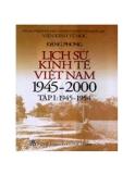 Giáo trình Lịch sử Việt Nam 1945 - 2000 - TS. Nguyễn Xuân Minh