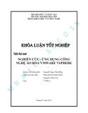 Khóa luận tốt nghiệp: NGHIÊN CỨU - ỨNG DỤNG CÔNG NGHỆ ẢO HÓA VMWARE VSPHERE