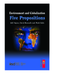 Environment and Globalization Five Propositions