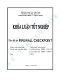 Khóa luận tốt nghiệp: Firewall Checkpoint