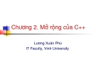 Chương 2. Mở rộng của C++