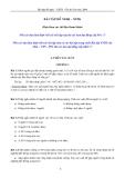 Bài tập đề nghị – XSTK * Ôn thi Cao học 2009