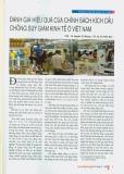 """Đề tài """" Đánh giá hiệu quả của chính sách kích cầu chống suy giảm kinh tế ở Việt Nam """""""