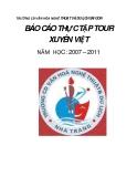 BÁO CÁO THỰC TẬP TOUR XUYÊN VIỆT NĂM HỌC : 2007 – 2011