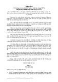 Hiệp định về chương trình ưu đãi thuế quan có hiệu lực chung (CEPT) cho Khu vực Thương mại Tự do ASEAN (AFTA)