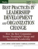 best practicesin leadership development orgchange