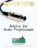 advice for audio professionals