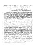 """Báo cáo khoa học """" KHỦNG HOẢNG TÀI CHÍNH TOÀN CẦU : CÁI NHÌN TOÀN CẢNH, KHUYẾN NGHỊ GIẢI PHÁP CHO TTCK VIỆT NAM """""""