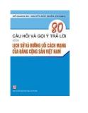 Hướng dẫn ôn thi thi Lịch sử Đảng Cộng sản Việt Nam - GS. Lê Mậu Hãn (chủ biên)