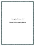 Codeigniter Framework: Cài đặt và chạy ứng dụng đầu tiên