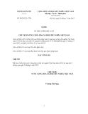 Lệnh Số: 09/2012/L-CTN VỀ VIỆC CÔNG BỐ LUẬT CHỦ TỊCH NƯỚC CỘNG HÒA XÃ HỘI CHỦ NGHĨA VIỆT NAM