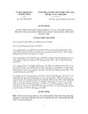 Quyết định Số: 2261/QĐ-UBND VỀ VIỆC PHÊ DUYỆT ĐỀ CƯƠNG NHIỆM VỤ VÀ DỰ TOÁN ĐỀ ÁN PHÁT TRIỂN THƯƠNG MẠI NÔNG THÔN GẮN VỚI XÂY DỰNG NÔNG THÔN MỚI TỈNH HÀ TĨNH