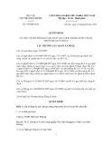 Quyết định Số: 196/QĐ-QLD VỀ VIỆC CẤP SỐ ĐĂNG KÝ SẢN XUẤT GIA CÔNG TRONG NƯỚC CHO 01 THUỐC ĐỂ XUẤT KHẨU
