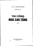 Ebook Thi công nhà cao tầng - ThS. Nguyễn Việt Tuấn