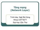 Bài giảng Mạng máy tính: Tầng mạng (Network Layer)