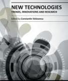 NEW TECHNOLOGIES – TRENDS, INNOVATIONS AND RESEARCH