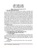 Bài thảo luận môn Thị Trường Tài Chính