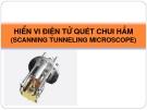 HIỂN VI ĐIỆN TỬ QUÉT CHUI HẦM (SCANNING TUNNELING MICROSCOPE)