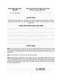Quyết định Số: 1492/QĐ-NHNN VỀ VIỆC CÔNG BỐ DANH MỤC VĂN BẢN, QUY ĐỊNH DO NGÂN HÀNG NHÀ NƯỚC VIỆT NAM BAN HÀNH ĐÃ HẾT HIỆU LỰC THI HÀNH GIAI ĐOẠN TỪ NGÀY 01/01/2012 ĐẾN HẾT NGÀY 30/6/2012