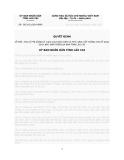 Quyết định Số: 38/2012/QĐ-UBND VỀ MỨC THU LỆ PHÍ ĐĂNG KÝ GIAO DỊCH BẢO ĐẢM VÀ PHÍ CUNG CẤP THÔNG TIN VỀ GIAO DỊCH BẢO ĐẢM TRÊN ĐỊA BÀN TỈNH LÀO CAI
