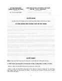 Quyết định Số: 32/2012/QĐ-UBND VỀ VIỆC THU PHÍ TRÔNG GIỮ XE TRÊN ĐỊA BÀN THÀNH PHỐ HỒ CHÍ MINH