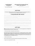 Quyết định Số: 46/2012/QĐ-UBND VỀ VIỆC BAN HÀNH MỨC THU LỆ PHÍ TRƯỚC BẠ ĐỐI VỚI XE Ô TÔ CHỞ NGƯỜI DƯỚI 10 CHỖ NGỒI KỂ CẢ LÁI XE TRÊN ĐỊA BÀN TỈNH LONG AN