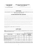 Quyết định Số: 20/2012/QĐ-UBND  MỘT SỐ CHẾ ĐỘ, ĐỊNH MỨC CHI TIÊU TÀI CHÍNH PHỤC VỤ HOẠT ĐỘNG CỦA HỘI ĐỒNG NHÂN DÂN CÁC CẤP TỈNH LẠNG SƠN