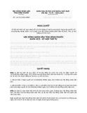Nghị quyết Số: 14/2012/NQ-HĐND BÃI BỎ MỘT SỐ QUY ĐỊNH VỀ LỆ PHÍ ĐĂNG KÝ NUÔI CON NUÔI TẠI NGHỊ QUYẾT SỐ 14/2008/NQ-HĐND NGÀY 29/7/2008 CỦA HỘI ĐỒNG NHÂN DÂN TỈNH VỀ MỨC THU LỆ PHÍ ĐĂNG KÝ HỘ TỊCH