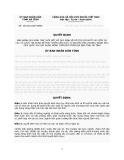 Quyết định Số: 26/2012/QĐ-UBND BAN HÀNH QUY ĐỊNH TẠM THỜI MỘT SỐ QUY ĐỊNH VỀ HỖ TRỢ LÃI SUẤT VAY VỐN TẠI CÁC TỔ CHỨC TÍN DỤNG ĐỂ PHÁT TRIỂN SẢN XUẤT TỪ NGUỒN VỐN CHƯƠNG TRÌNH MỤC TIÊU QUỐC GIA XÂY DỰNG NÔNG THÔN MỚI TRÊN ĐỊA BÀN TỈNH HÀ TĨNH