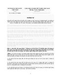 Thông tư : 19/2012/TT-NHNN SỬA ĐỔI, BỔ SUNG MỘT SỐ ĐIỀU CỦA THÔNG TƯ SỐ 30/2011/TT-NHNN NGÀY 28 THÁNG 9 NĂM 2011 QUY ĐỊNH LÃI SUẤT TỐI ĐA ĐỐI VỚI TIỀN GỬI BẰNG ĐỒNG VIỆT NAM CỦA TỔ CHỨC, CÁ NHÂN TẠI TỔ CHỨC TÍN DỤNG, CHI NHÁNH NGÂN HÀNG NƯỚC NGOÀI