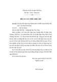 Đề tài: Thực trạng và giải pháp nâng cao chất lượng dịch vụ thẻ tại Ngân hàng Thương Mại Cổ Phần Công Thương – chi nhánh Khánh Hòa