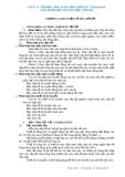 GIÁO TRÌNH DẠY THI NÂNG BẬC NĂM 2012 - CÔNG TY CỔ PHẦN CẢNG DVDK TỔNG HỢP PTSC THANH HÓA