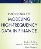 Modeling High-Frequency Data in Finance
