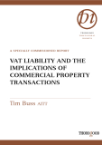 VAT LIABILITY AND THE IMPLICATIONS OF COMMERCIAL PROPERTY TRANSACTIONS