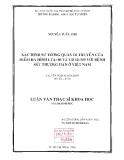 Đề Tài: Xác định tương quan di truyền của điểm đa hình LTA+80 và CD14/-195 với bệnh sốt thương hàn ở Việt Nam