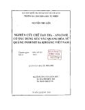 Đề tài: Nghiên cứu chế tạo TiO2–ANATASE có tác dụng xúc tác quang hóa từ quặng INMENIT sa khoáng Việt Nam