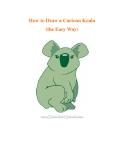 How to Draw a Cartoon Koala (the Easy Way)