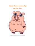 How to Draw a Cartoon Pig (the Easy Way)