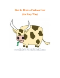 How to Draw a Cartoon Cow (the Easy Way)