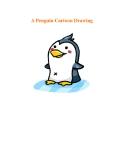 A Penguin Cartoon Drawing