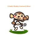 A Funky Monkey Cartoon to Draw