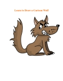 Learn to Draw a Cartoon Wolf
