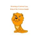 Drawing a Cartoon Lion, King of the Cartoon Jungle