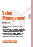 Sales Management MARKETING Patrick Forsythi