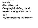 Giới thiệu về Công nghệ thông tin và truyền thông (CNTT-TT)