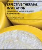 EFFECTIVE THERMAL INSULATION – THE OPERATIVE FACTOR OF A PASSIVE BUILDING MODEL