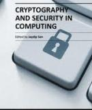 CRYPTOGRAPHY AND SECURITY IN COMPUTING